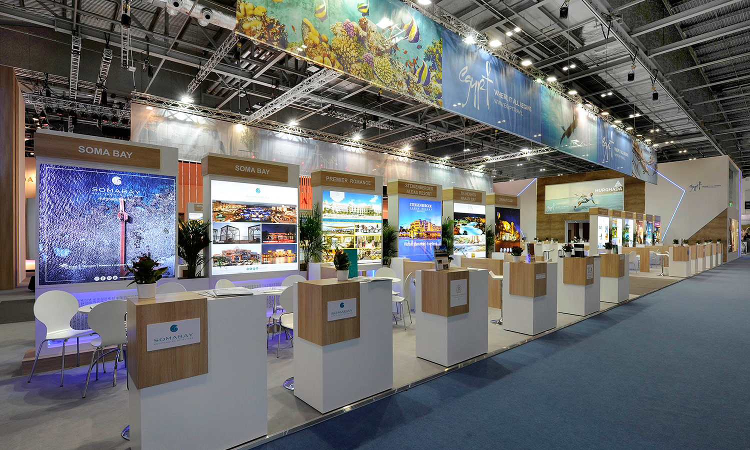 Exhibition Stand Design Egypt : United group expo united group exhibition systems stand design